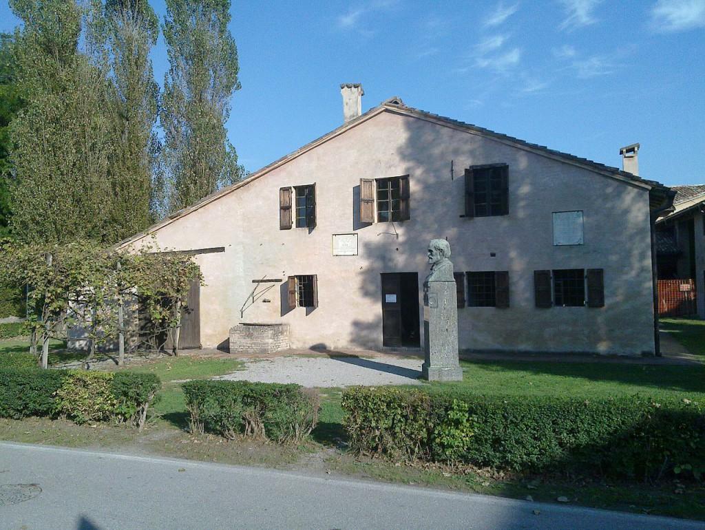 ヴェルディが幼少期を過ごしたレ・ロンコール村の生家